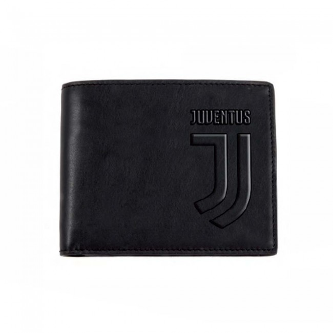 vasta selezione di e5e6f c70c6 Portafoglio Pelle Logo Ufficiale F.C. Juventus