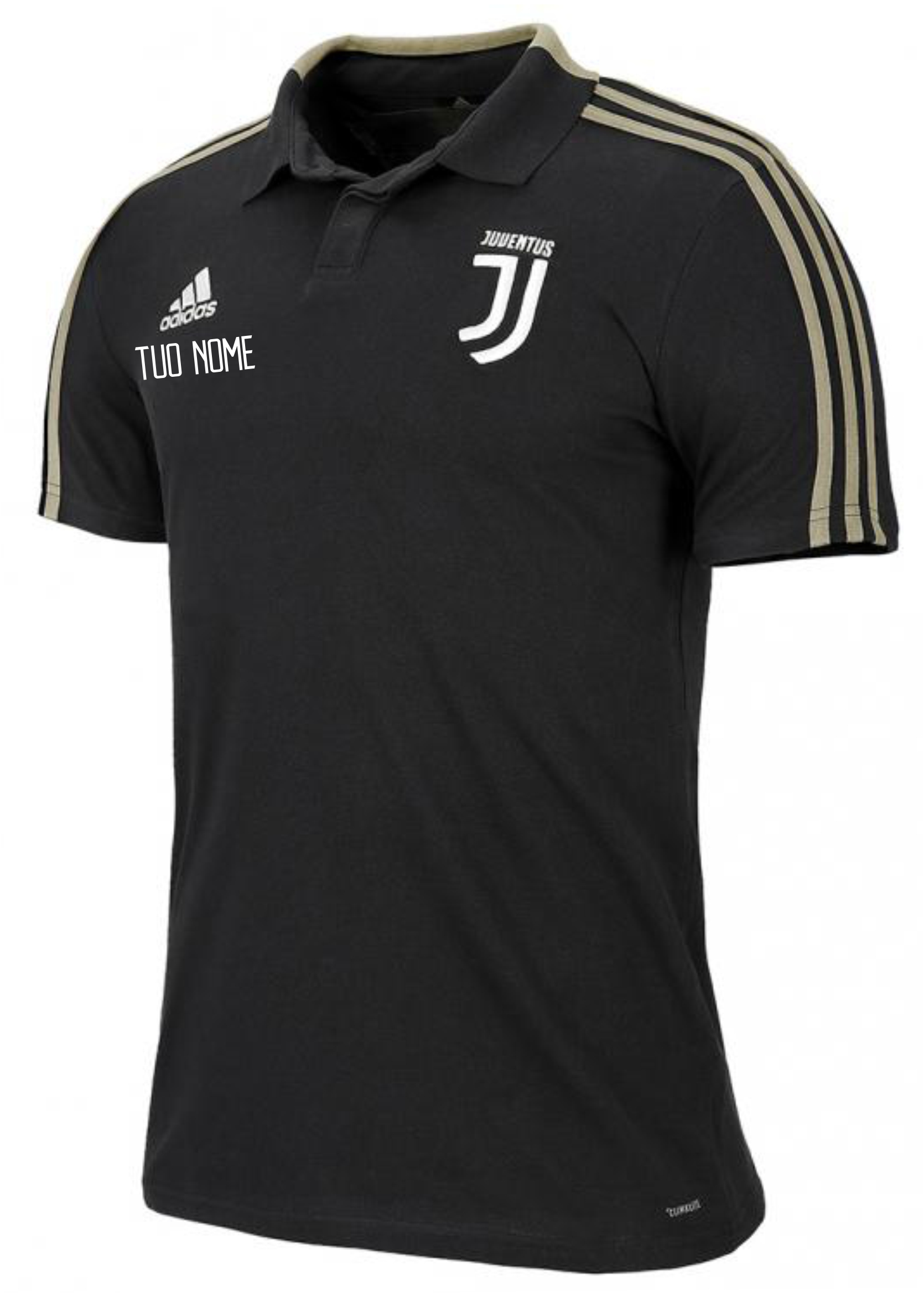 ddada90781 Polo Rappresentanza Nera F.C. Juventus 2018/2019