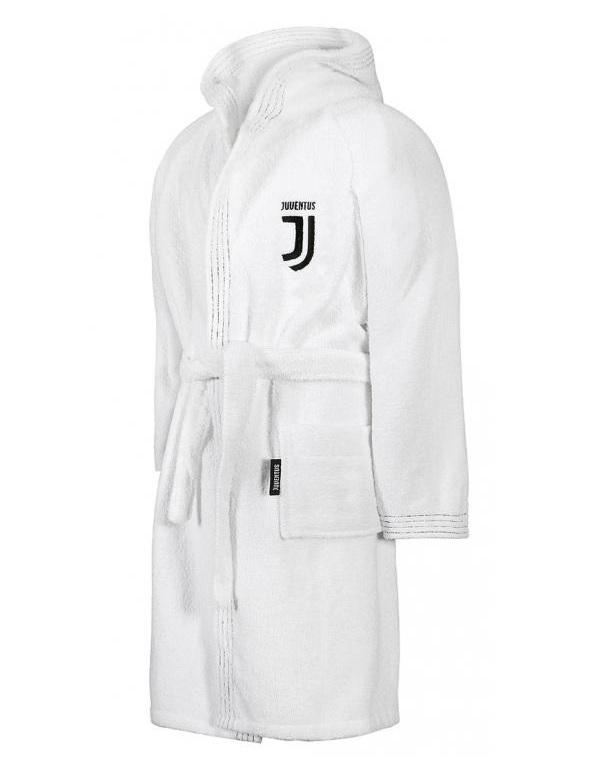Accappatoio Spugna Ufficiale F.C. Juventus