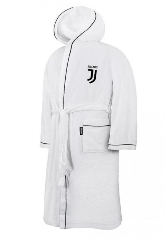 Accappatoio Microspugna Logo Bambino Ufficiale F.C. Juventus
