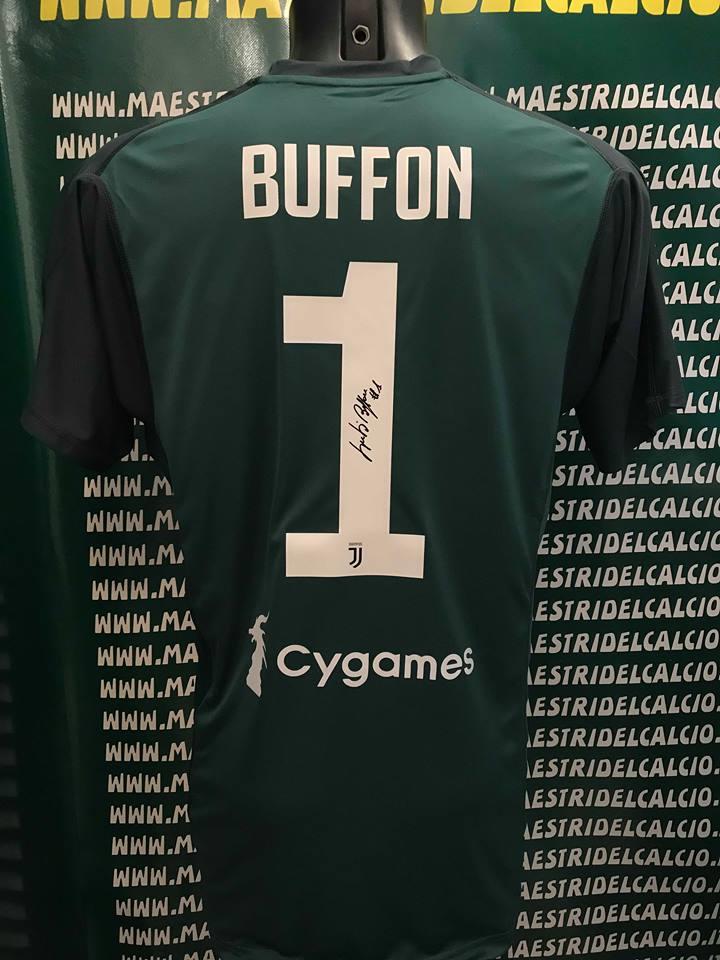 "Maglia Gara Home ""Buffon 1"" Autografata F.C. Juventus 2018/2019"