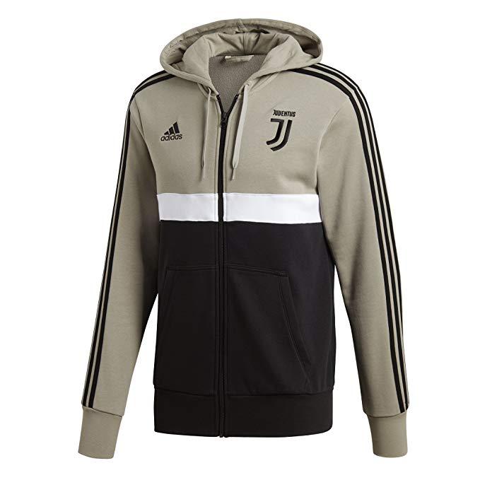 Felpa Cappuccio Nero/Beige F.C. Juventus 2018/2019