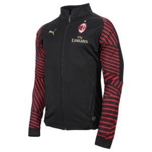 Felpa Rappresentanza Nera A.C. Milan 2018/2019