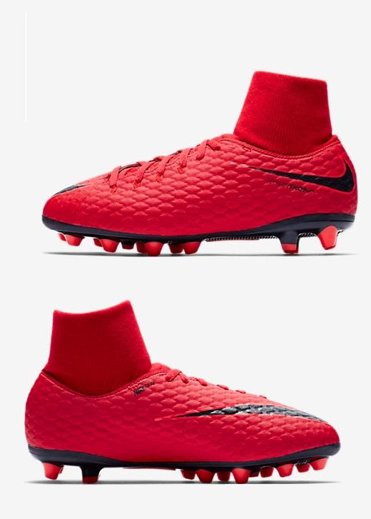 Nike Hypervenom Phelon 3 DF AGPRO Rosse Bambino