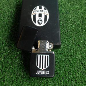 Accendino Con Pietrina Nero F.C. Juventus