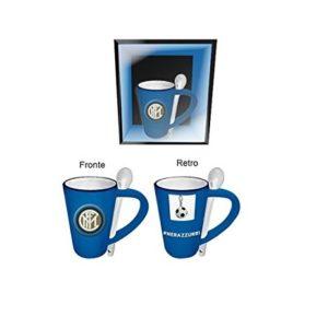 Tazza Jumbo Blu Con Cucchiaino Ufficiale F.C. Inter
