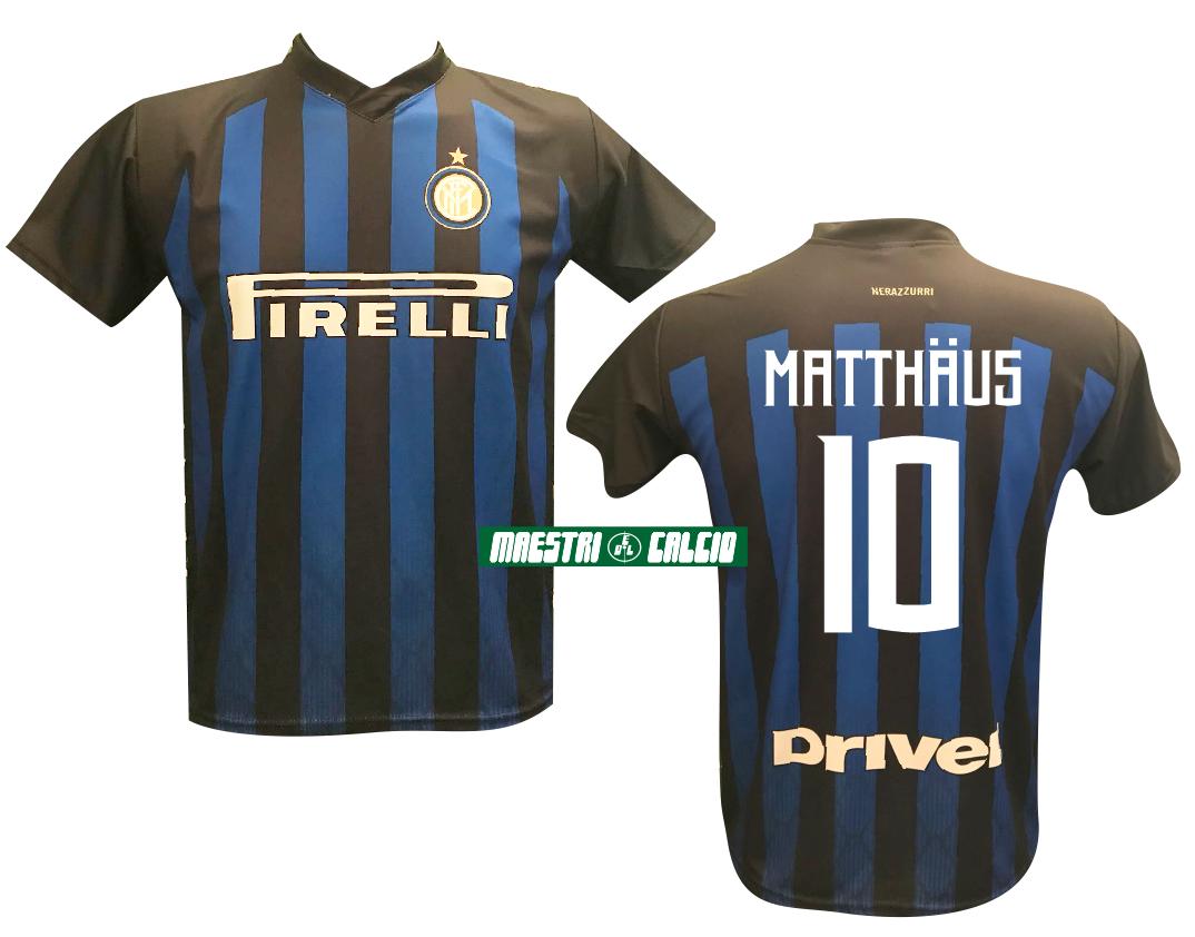 """Maglia Replica Ufficiale """"MATTHAUS 10"""" F.C. Inter 2018/2019"""