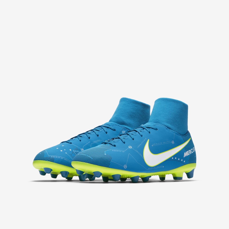 Nike Mercurial Victory VI DF Neymar Jr AGPRO Azzurra Bambino