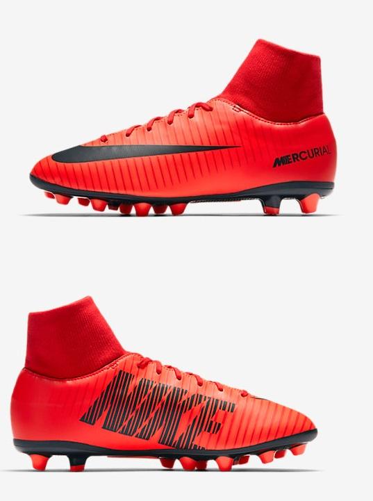 Nike Mercurial Victory VI DF AGPRO Rossa Bambino
