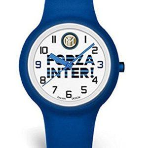 """Orologio Quadrante """"FORZA INTER"""" Ufficiale Bambino F.C. Inter"""