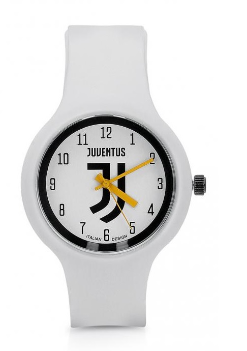"""Orologio Quadrante """"J"""" Bianco Ufficiale F.C. Juventus"""