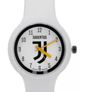 "Orologio Quadrante ""J"" Bianco Ufficiale Bambino F.C. Juventus"