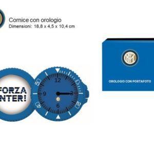 Orologio Portafoto Ufficiale F.C. Inter