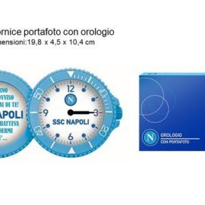 Orologio Portafoto Ufficiale S.S.C. Napoli