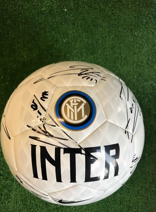 Pallone Nike Bianco Autografato F.C. Inter 2018/2019