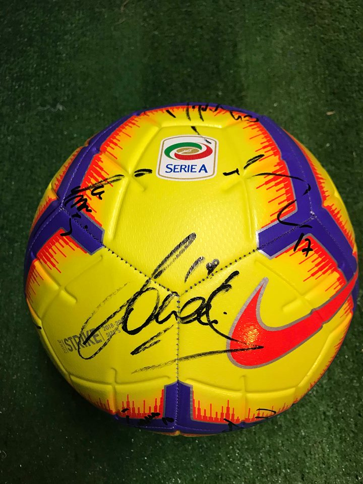 Pallone Nike Serie A Autografato F.C. Juventus 2018/2019