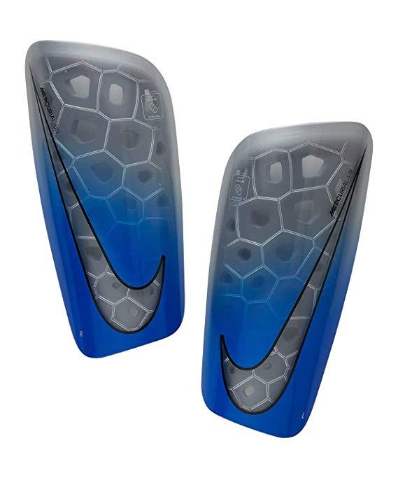 Parastinchi Nike Mercurial Lite Blu Grigio