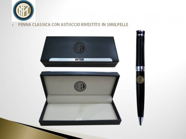 Penna Con Astuccio Ufficiale F.C. Inter