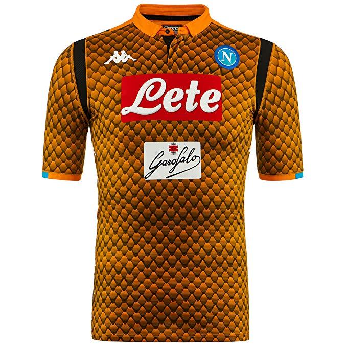 Maglia Gara Portiere Arancione S.S.C. Napoli 2018/2019