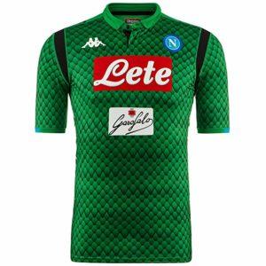 Maglia Gara Portiere Verde S.S.C. Napoli 2018/2019