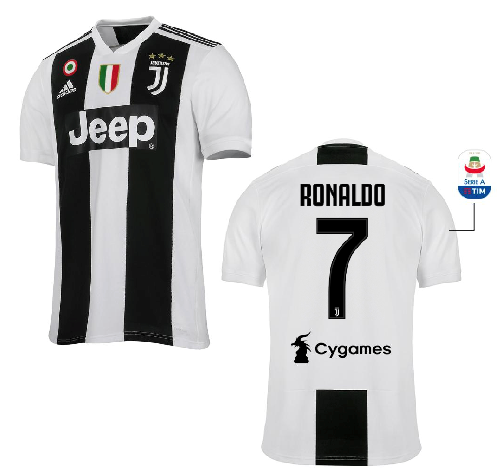"Maglia Gara Home ""RONALDO 7"" F.C. Juventus 2018/2019"
