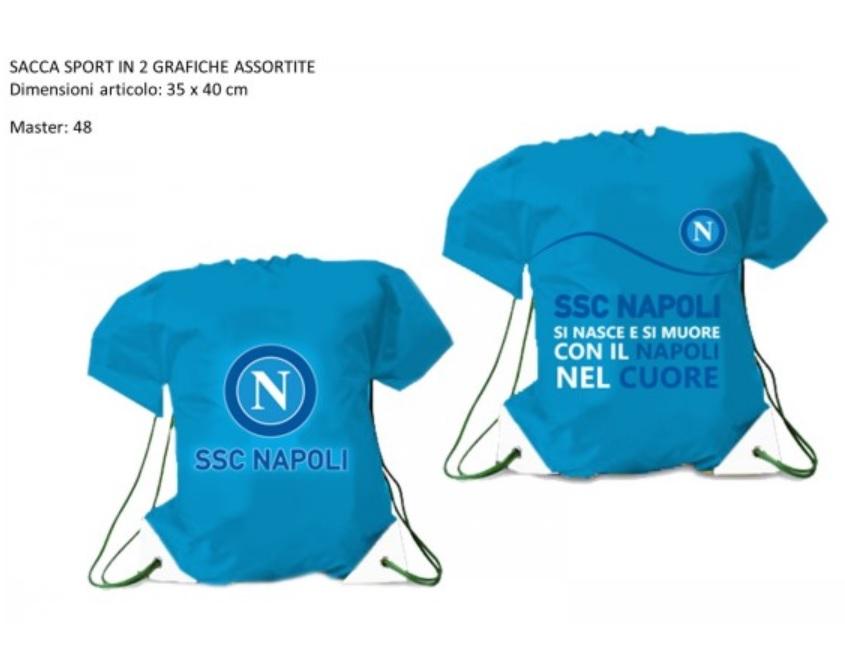 Sacca Tempo Libero Ufficiale Azzurra S.S.C. Napoli