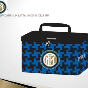 Salvadanaio In Latta Ufficiale F.C. Inter