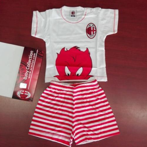 Set 2 Pezzi Neonato Ufficiale A.C. Milan