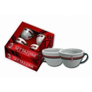 Set 4 Tazzine Caffè Ufficiali A.C. Milan