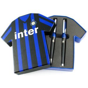 Set Penne Doppie Maglietta Ufficiale F.C. Inter