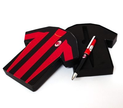 Set Penna Singola Maglietta Ufficiale A.C. Milan