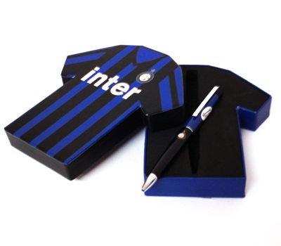 Set Penna Singola Maglietta Ufficiale F.C. Inter