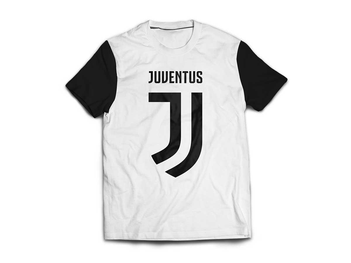 T-Shirt Bianca Ufficiale Bambino F.C. Juventus
