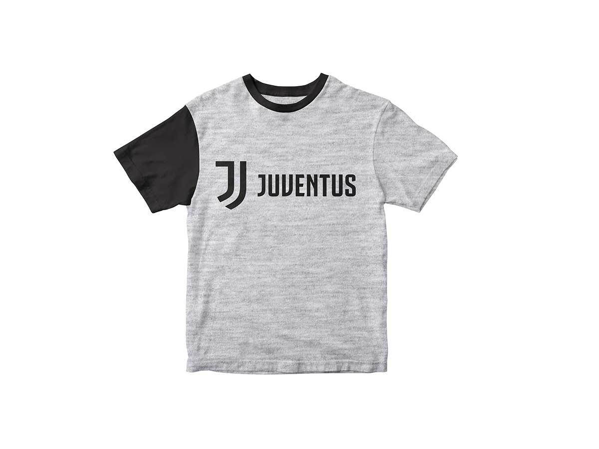 """T-Shirt Grigia """"Juventus"""" Ufficiale Bambino F.C. Juventus"""