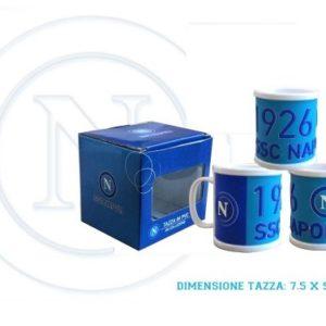 Tazza Azzurra Ufficiale S.S.C. Napoli