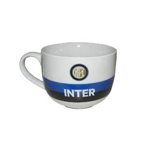 Tazza Colazione Bianca Ufficiale F.C. Inter