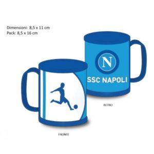 Tazza Azzurra Ufficiale In Pvc S.S.C. Napoli