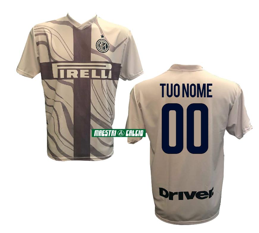 """Maglia Replica Ufficiale Third """"NOME+NUMERO PERSONALIZZATO"""" F.C. Inter 2018/2019"""