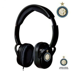 Cuffie Stereo Ufficiali con microfono e tasto funzione F.C. Inter