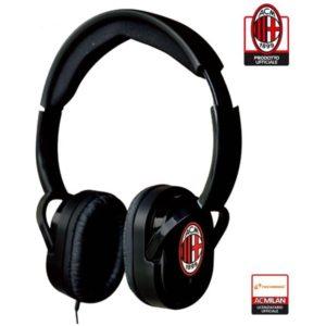 Cuffie Stereo Ufficiali con microfono e tasto funzione A.C. Milan