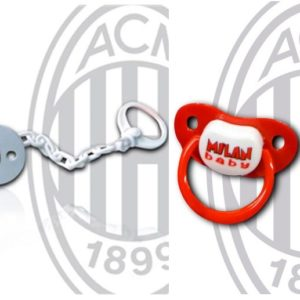 Ciuccio con Catenella Ufficiale A.C. Milan