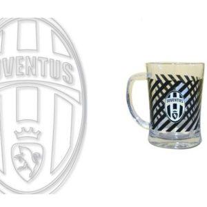 Boccale Vetro Ufficiale F.C. Juventus