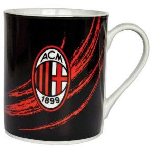 Tazza Cilindrica Nera Tuono Ufficiale A.C. Milan