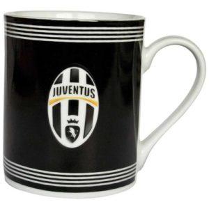 Tazza Cilindrica Logo Nera Ufficiale F.C. Juventus