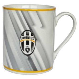 Tazza Cilindrica Grigia Ufficiale F.C. Juventus