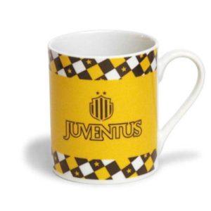Tazza Cilindrica Gialla Ufficiale F.C. Juventus