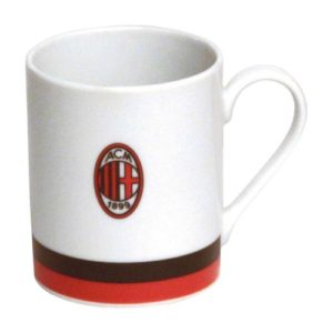 Tazza Cilindrica Bianca Ufficiale A.C. Milan