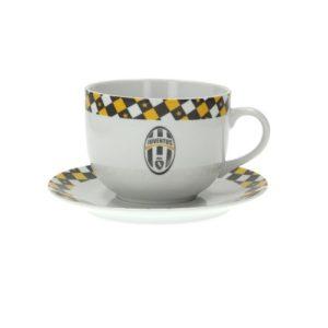 Tazza Colazione Con Piatto Ufficiale F.C. Juventus