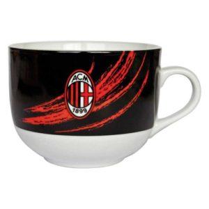 Tazza Colazione Nera Tuono Ufficiale A.C. Milan