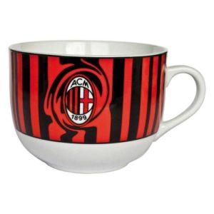 Tazza Colazione Rossa Ufficiale A.C. Milan
